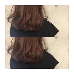 ストリート ミディアム 大人かわいい フェミニン ヘアスタイルや髪型の写真・画像