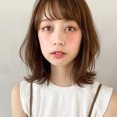 ヘアアレンジ ミディアム 大人かわいい アンニュイほつれヘア ヘアスタイルや髪型の写真・画像
