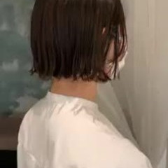 前髪あり ゆるふわ ナチュラル 切りっぱなしボブ ヘアスタイルや髪型の写真・画像