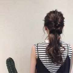 ヘアアレンジ 簡単ヘアアレンジ 女子会 ロング ヘアスタイルや髪型の写真・画像