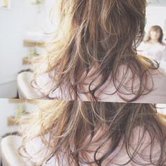 ロング ナチュラル 大人かわいい フェミニン ヘアスタイルや髪型の写真・画像