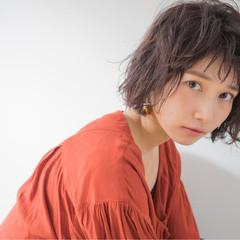 外国人風 ボブ 大人女子 小顔 ヘアスタイルや髪型の写真・画像