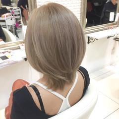 ハイライト ブルージュ モード ショート ヘアスタイルや髪型の写真・画像