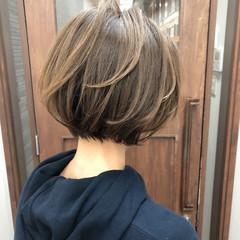 切りっぱなしボブ ベリーショート ショート ミニボブ ヘアスタイルや髪型の写真・画像