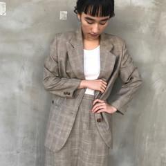 謝恩会 モード デート 抜け感 ヘアスタイルや髪型の写真・画像