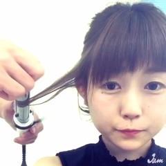 かわいい ヘアアクセ ヘアアレンジ  ヘアスタイルや髪型の写真・画像