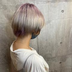 ストリート ベリーショート ショートヘア ショートボブ ヘアスタイルや髪型の写真・画像