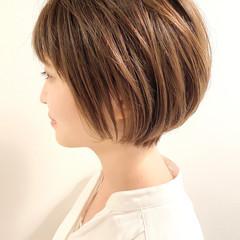 デート ベリーショート ショート ナチュラル ヘアスタイルや髪型の写真・画像