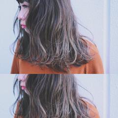 グラデーションカラー 夏 暗髪 ストリート ヘアスタイルや髪型の写真・画像