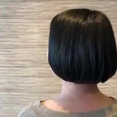 イルミナカラー 透明感カラー ナチュラル ボブ ヘアスタイルや髪型の写真・画像