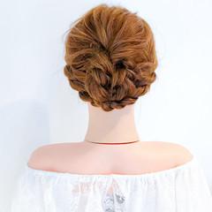 結婚式 大人かわいい ヘアアレンジ デート ヘアスタイルや髪型の写真・画像