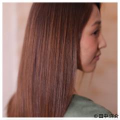大人かわいい トリートメント ナチュラル 艶髪 ヘアスタイルや髪型の写真・画像