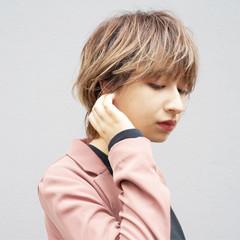 ショートヘア ハンサムショート モード 小顔ショート ヘアスタイルや髪型の写真・画像
