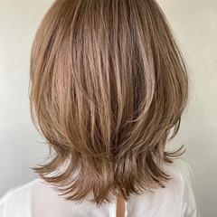 オフィス アンニュイほつれヘア 大人かわいい ナチュラル ヘアスタイルや髪型の写真・画像