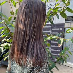 寒色 ベージュ ショートパーマ 外国人風 ヘアスタイルや髪型の写真・画像