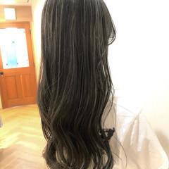ハイライト ホワイトハイライト ナチュラル 外国人風 ヘアスタイルや髪型の写真・画像