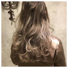 ブリーチ ゆるふわ ストリート ロング ヘアスタイルや髪型の写真・画像