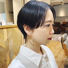 ショート ショートヘア ハンサムショート 大人ショート ヘアスタイルや髪型の写真・画像