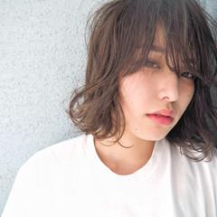 アッシュ ハイライト 外国人風 外国人風カラー ヘアスタイルや髪型の写真・画像