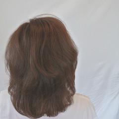 ナチュラル ヘアアレンジ ミディアム 艶髪 ヘアスタイルや髪型の写真・画像