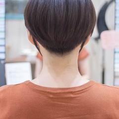 ショート ショートヘア ショートボブ 刈り上げ女子 ヘアスタイルや髪型の写真・画像