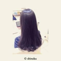 ナチュラル 黒髪 ロング ガーリー ヘアスタイルや髪型の写真・画像