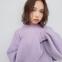 モテ髮シルエット ガーリー 秋冬スタイル ボブ ヘアスタイルや髪型の写真・画像