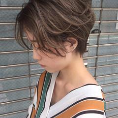 ナチュラル 前髪あり 抜け感 透明感 ヘアスタイルや髪型の写真・画像