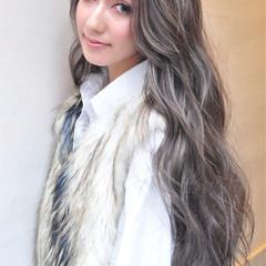 フェミニン ロング 外国人風 スポーツ ヘアスタイルや髪型の写真・画像