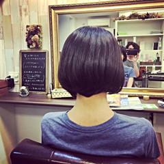 グラデーションカラー ナチュラル 暗髪 グレージュ ヘアスタイルや髪型の写真・画像