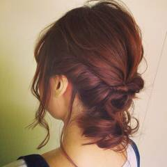 ヘアアレンジ ストリート 外国人風 ロング ヘアスタイルや髪型の写真・画像