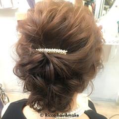 大人かわいい 暗髪 ショート 簡単ヘアアレンジ ヘアスタイルや髪型の写真・画像