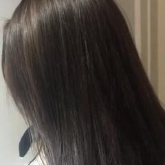 パーティ アッシュ ハイライト ガーリー ヘアスタイルや髪型の写真・画像