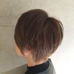 ストリート 大人かわいい アッシュ ショート ヘアスタイルや髪型の写真・画像