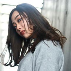 エレガント 透明感カラー 抜け感 アンニュイほつれヘア ヘアスタイルや髪型の写真・画像