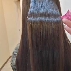 ストレート 大人ロング エレガント 髪質改善 ヘアスタイルや髪型の写真・画像