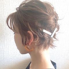 ボブ ボブアレンジ ミニボブ ヘアアレンジ ヘアスタイルや髪型の写真・画像