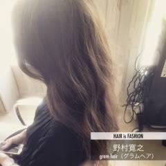 グレージュ ロング ゆるふわ ガーリー ヘアスタイルや髪型の写真・画像