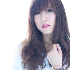 アンニュイ モテ髪 ナチュラル ウェーブ ヘアスタイルや髪型の写真・画像