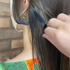 ロング グラデーションカラー ナチュラル 塩基性 ヘアスタイルや髪型の写真・画像
