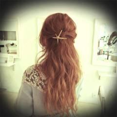フェミニン 愛され グラデーションカラー コンサバ ヘアスタイルや髪型の写真・画像