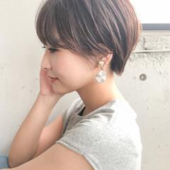 ショートヘア ベリーショート ナチュラル ショート ヘアスタイルや髪型の写真・画像
