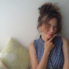 簡単 透明感 外国人風 ロング ヘアスタイルや髪型の写真・画像