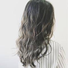 色気 斜め前髪 外国人風 ストリート ヘアスタイルや髪型の写真・画像
