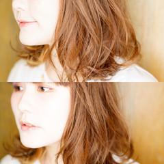 外国人風 フェミニン ストリート ゆるふわ ヘアスタイルや髪型の写真・画像