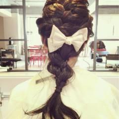 ロング 結婚式 パーティ ヘアアレンジ ヘアスタイルや髪型の写真・画像