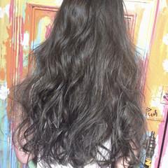 暗髪 ナチュラル 大人かわいい ロング ヘアスタイルや髪型の写真・画像