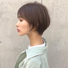 ショートボブ ショート女子 マッシュショート ショート ヘアスタイルや髪型の写真・画像