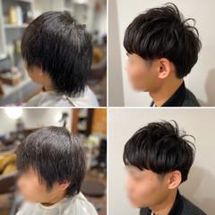 ストリート ショート メンズカット メンズマッシュ ヘアスタイルや髪型の写真・画像