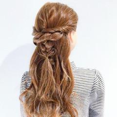オフィス ヘアアレンジ デート ロング ヘアスタイルや髪型の写真・画像